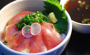 焼津浜食堂のマグロ丼